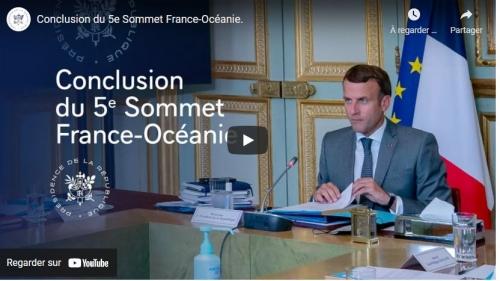 5e sommet France - Océanie,